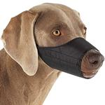 Guardian Gear Lined Dog Muzzle - Black