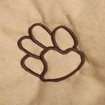 View Image 2 of Cruising Companion Pawprint Seat Cover - Camel