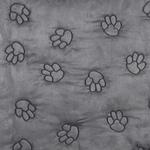 View Image 3 of Guardian Gear Pawprint Seat Covers - Charcoal