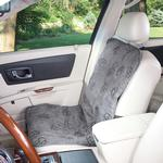 View Image 3 of Guardian Gear Pawprint Single Seat Cover - Charcoal