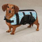 View Image 3 of Guardian Gear Printed Pet Preserver - Polka Dot