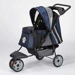 View Image 3 of Guardian Gear Roadster II Dog Stroller - Navy