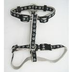 Guardian Gear Two Tone Pawprint Harness - Black
