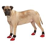 View Image 1 of Guardian Gear Weatherized Fleece Dog Boots - Red