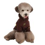 View Image 1 of Hallmark Hooded Dog Shirt by Puppia - Brown