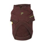 View Image 2 of Hallmark Hooded Dog Shirt by Puppia - Brown