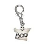 Halloween Dog Collar Charm - Ghost Lobster Claw