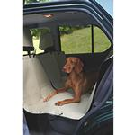 View Image 1 of Hammock Style Dog Car Seat Cover - Khaki