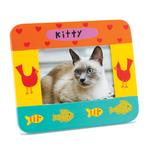 View Image 1 of Hand Painted Cat Picture Frame