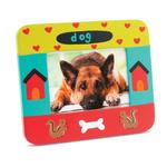 View Image 1 of Hand Painted Dog Picture Frame