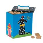 View Image 1 of Hand Painted Dog Treat Box - Black & White