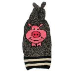View Image 1 of Handmade Piggy Wool Dog Sweater