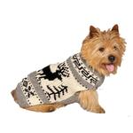 View Image 1 of Handmade Reindeer Wool Dog Shawl