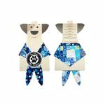 Hanukkah Dog Bandana - Blue