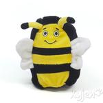 View Image 1 of Hard Boiled Softies Dog Toy - Boris the Bee