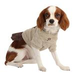 View Image 2 of Hatch Hooded Dog Dress by Puppia - Beige
