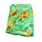 View Image 2 of Hawaiian Print Dog Shirt - Green