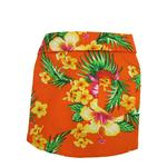 View Image 1 of Hawaiian Print Dog Shirt - Orange