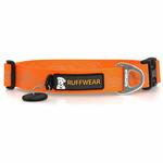 View Image 3 of Headwater Dog Collar by RuffWear - Orange Sunset