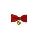 View Image 1 of Heart Charm Dog Barrette