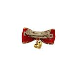 View Image 2 of Heart Charm Dog Barrette