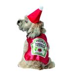 View Image 1 of Heinz Ketchup Bottle Dog Costume by Rasta Imposta
