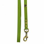 View Image 2 of Hematite Pebbies Dog Leash - Green