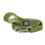 Hemp Dog Leash w/ Fleece Handle by Planet Dog - Green Apple