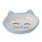 View Image 1 of Here Kitty Blue Cat Bowl