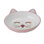 Here Kitty Pink Cat Bowl