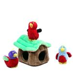 View Image 1 of Hide-a-Bird Plush Dog Toy