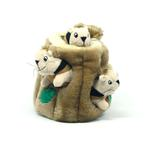View Image 3 of Hide-A-Squirrel Plush Dog Toy