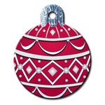 View Image 1 of Holiday Ornament Engraveable Pet I.D. Tag