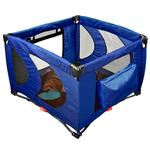 View Image 1 of Home N Go Square Pet Pen - Cobalt Blue
