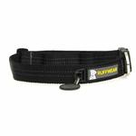 View Image 1 of Hoopie Dog Collar by RuffWear - Obsidian Black
