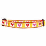 View Image 1 of Hot Hearts Dog Collar by Up Country