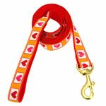 View Image 1 of Hot Hearts Dog Leash by Up Country