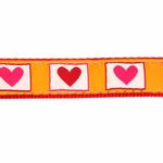 View Image 3 of Hot Hearts Dog Leash by Up Country