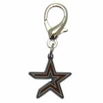 View Image 1 of Houston Astros Logo Dog Collar Charm