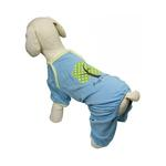View Image 2 of 'Hug a Tree' Eco-Friendly Dog Pajamas by Klippo - Light Blue