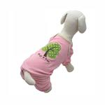 View Image 2 of 'Hug A Tree' Eco-Friendly Dog Pajamas by Klippo - Pink