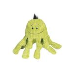 View Image 1 of Huggle Hounds Octo Knotties Toy - Citron