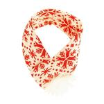 Hugglehounds Holiday Dog Scarf - Snowflake