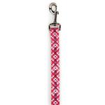 Hugs & Kisses Pink Dog Leash