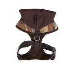 View Image 2 of Hunter Hooded Dog Harness by Puppia - Brown Camo