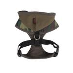 View Image 2 of Hunter Hooded Dog Harness by Puppia - Green Camo