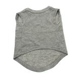 View Image 2 of 'I Have Issues' Screen Print Dog Tank Top - Gray