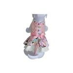 Ice Cream Treats Harness Dress w/ Leash