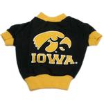 View Image 1 of Iowa Hawkeyes Dog T-Shirt