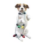 View Image 1 of Jack Russell Terrier Sitting Pretty Christmas Ornament